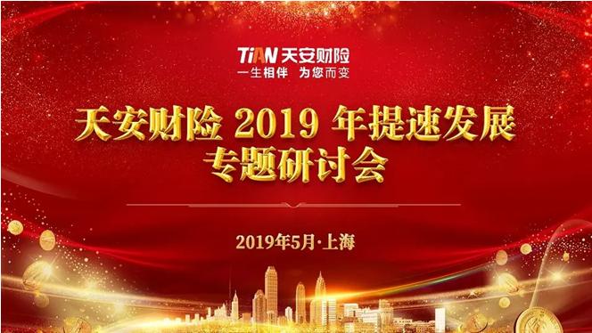 天安财险成功召开2019年提速发展专题研讨会